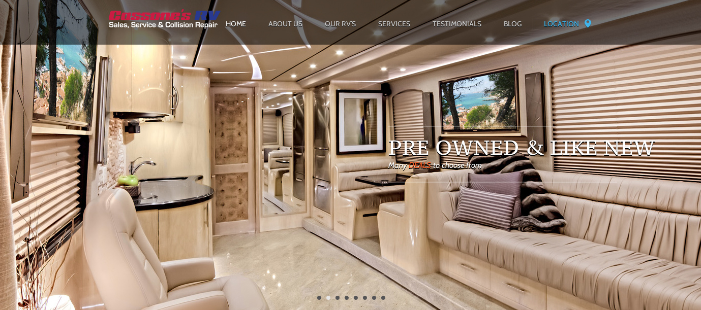 Best Rv Dealer Websites The World Of Code